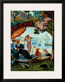 Arcachon Framed Giclee Print by Hermann Delpech