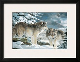 Wolf Watch Prints by Amneris Fernandez