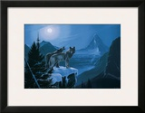 Twilight Wolves Prints by Rod Tribiger