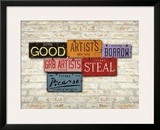 Picasso, Steal Posters by Greg Constantine