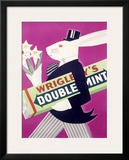 Wrigley's Chewing Gum Framed Giclee Print