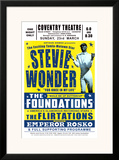 Stevie Wonder in Concert, 1969 Posters by Dennis Loren