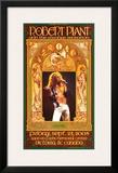 Robert Plant Victoria Concert Prints by Bob Masse