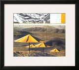 The Yellow Umbrellas, 1991 Prints by  Christo