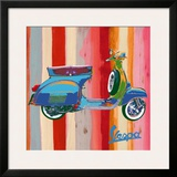 Pop Vespa II Poster by Valerio Salvini