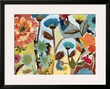 Flower Garden I Posters by Gayle Kabaker