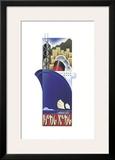 Hong Kong Framed Giclee Print by Steve Forney