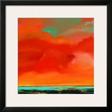 Red Sky Print by S. Brooke Anderson