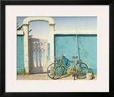 Beach Bike Print by D.k. Gifford