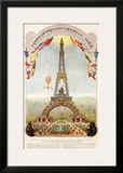 Universal Exposition Fair, Paris, c.1889 Framed Giclee Print