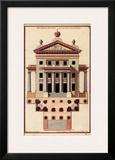 Palladio Facade II Prints by Andrea Palladio