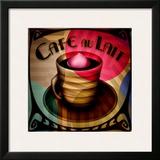 Cafe au Lait Framed Giclee Print