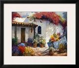 Casa Paloma Framed Giclee Print by Carolyne Hawley
