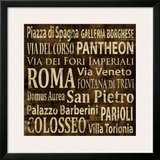Roma Prints by Luke Wilson