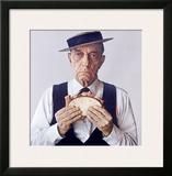 Buster Keaton Eats Levy Jewish Rye Framed Giclee Print