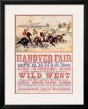 Hanover Fair Horse Race Framed Giclee Print