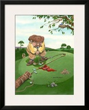 Lining Up Framed Giclee Print by Gary Patterson
