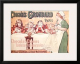 Grondard Chocolate Pudding Poster Framed Giclee Print