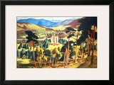 Royal Deeside Framed Giclee Print by James McIntosh Patrick