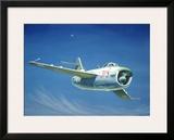 MIG 15 Fighter Jet Framed Giclee Print by Robert Mascher