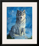 Sitting on Top of the World Framed Giclee Print by Georgia Lesley