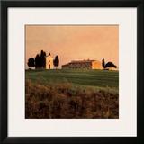 Evening Light, Tuscany Prints by Elizabeth Carmel