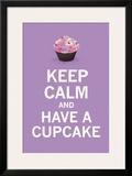 Lavender Cupcake Art