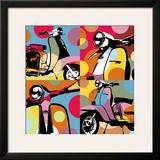 Scooter Pop Prints by  Lobo