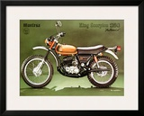 Montesa 250 King Scorpion Motorcycle Framed Giclee Print