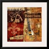 Rue Bourbon Posters by Conrad Knutsen