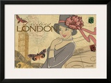 London Poster by Maria Woods