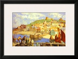 Whitby Framed Giclee Print by William Lee- Hanky