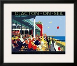 Clacton-on-Sea Framed Giclee Print by Henry George Gawthorn