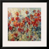 Red Poppy Field II Print by Tim O'toole