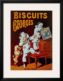 Biscuits Georges Framed Giclee Print