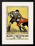 Rugby at Twickenham Art