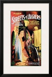 Streets Of Algiers - 1928 Framed Giclee Print