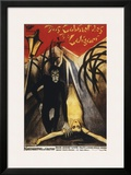 The Cabinet Of Dr. Calagari - 1920 Framed Giclee Print