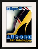 Aurore Framed Giclee Print by Jean Chassaing