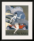 90e Salon des Independants Framed Giclee Print