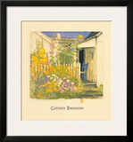 Grandma Battin's Garden Prints by Gustave Baumann