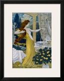Eau de Lubin Framed Giclee Print