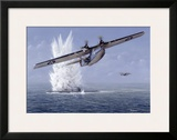Pby Catalina Framed Giclee Print by Don Feight