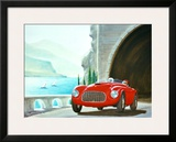 Ferrari Barchetta Roadster Framed Giclee Print by Bill Northup