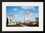 Las Vegas Strip, Flamingo Hotel Framed Giclee Print
