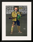Johann Zehme Framed Giclee Print