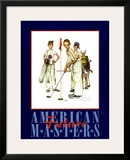 American Masters Poster by Norman Rockwell