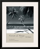 Anse Takamaka I Framed Giclee Print by Chris Simpson