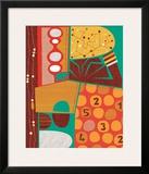 Mindmap Framed Giclee Print by Jenn Ski
