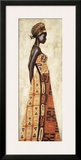 Femme Africaine I Print by Jacques Leconte